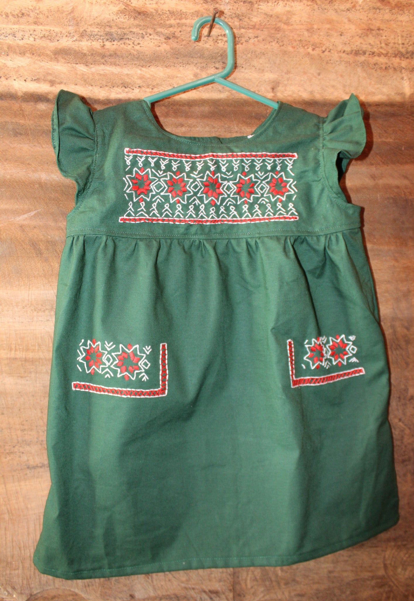 Oaxacan Tunic - Christmas Detail - Past Winter Release