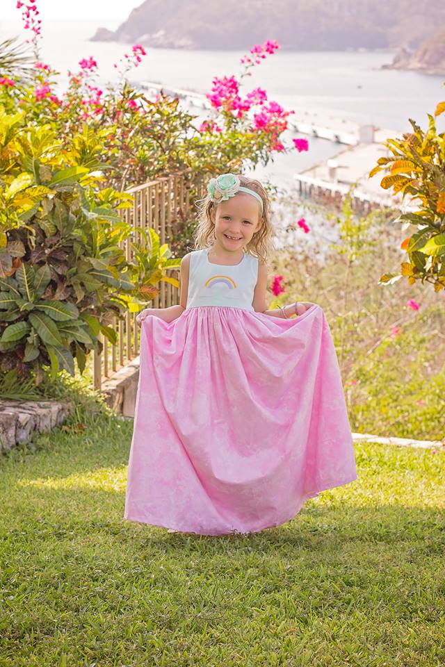 Spring Dreams - Maxi Dress (Sizes 3m - 3T)