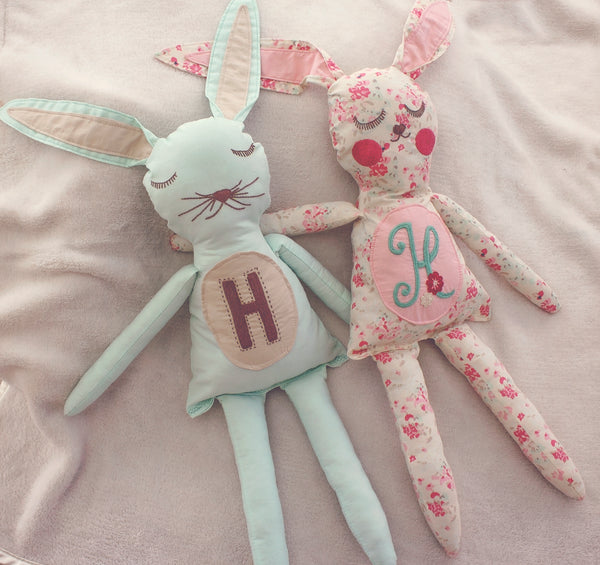 EARResistably Sweet - Custom Embroidered Bunny - (Re-Release)