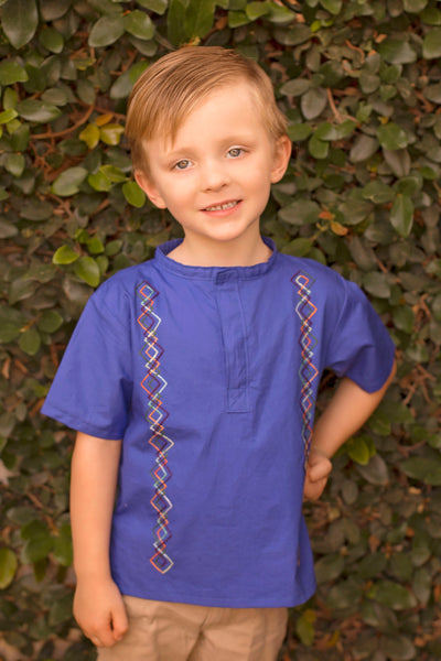 """Fancy Heritage 3.0"" - Boy's Shirt (Sizes 0m - 4T)"