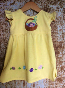 Yellow Easter Basket Dress