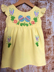 Yellow Easter Egg Dress on Local