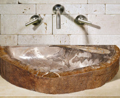 Petrified Wood Natural Stone Sinks