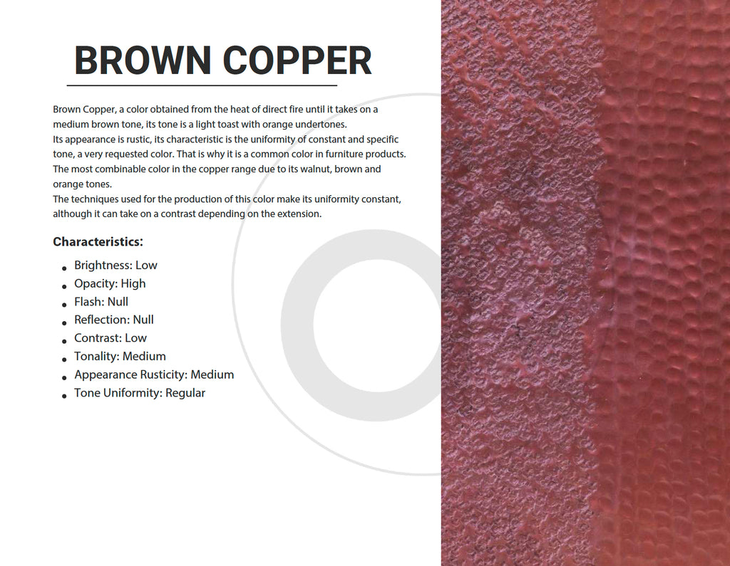 Brown Copper Color