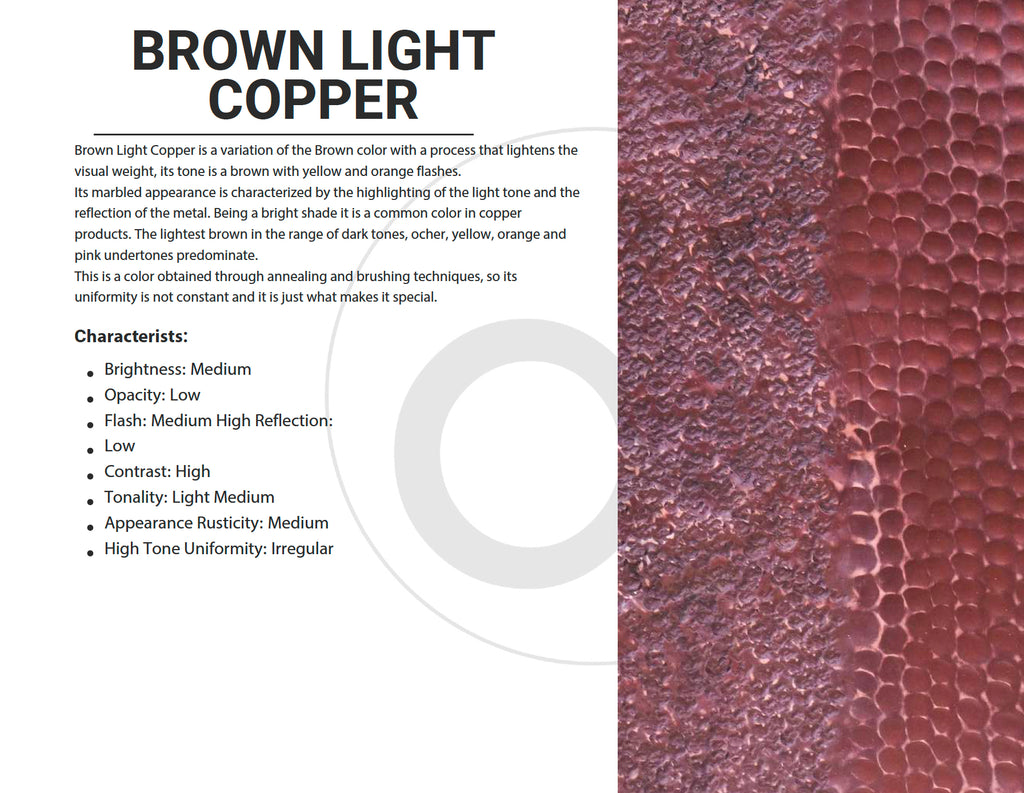 Brown Light Copper