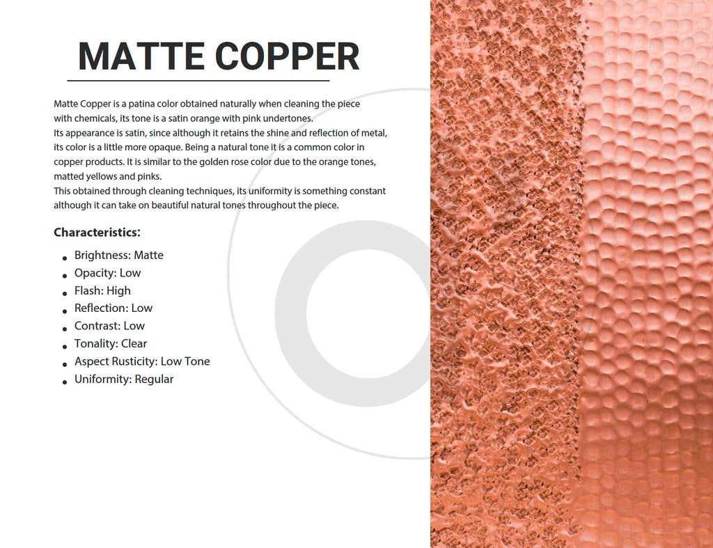 Matte Copper Color