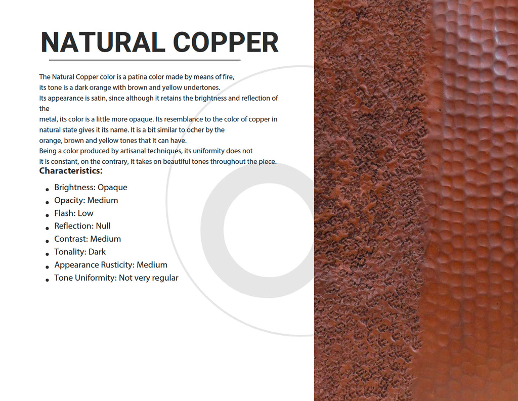 Natural Copper Color