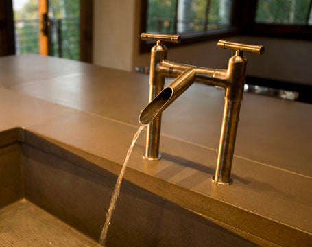 A Little About Rustic Faucets