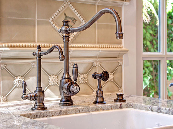 Choosing a Kitchen Faucet - Learn About Faucet Mounting ...