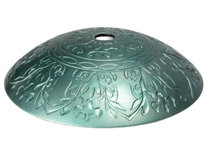 Teal Glass Vessel Sink