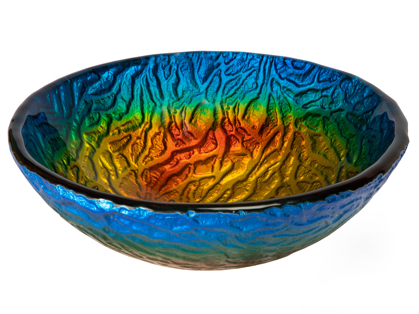 "14"" True Planet Glass Vessel Sink"