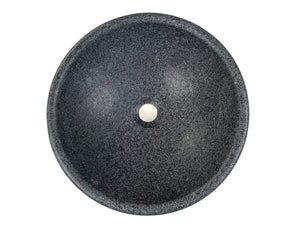 Echo Bowl Shaped Vessel Sink - Honed Padang Dark Granite