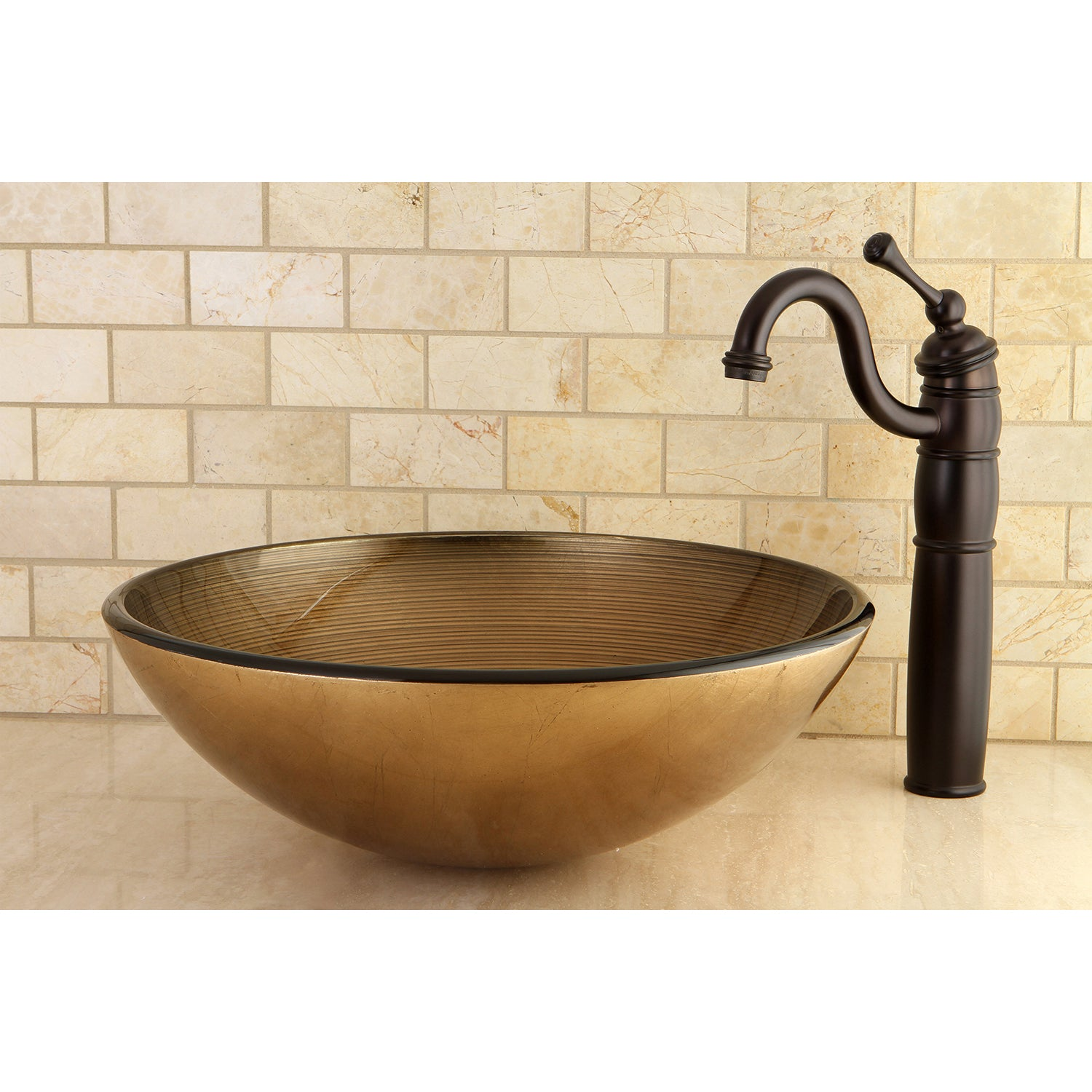Vessel Sink Faucets Oil Rubbed Bronze.Heritage Vessel Sink Faucet In Oil Rubbed Bronze