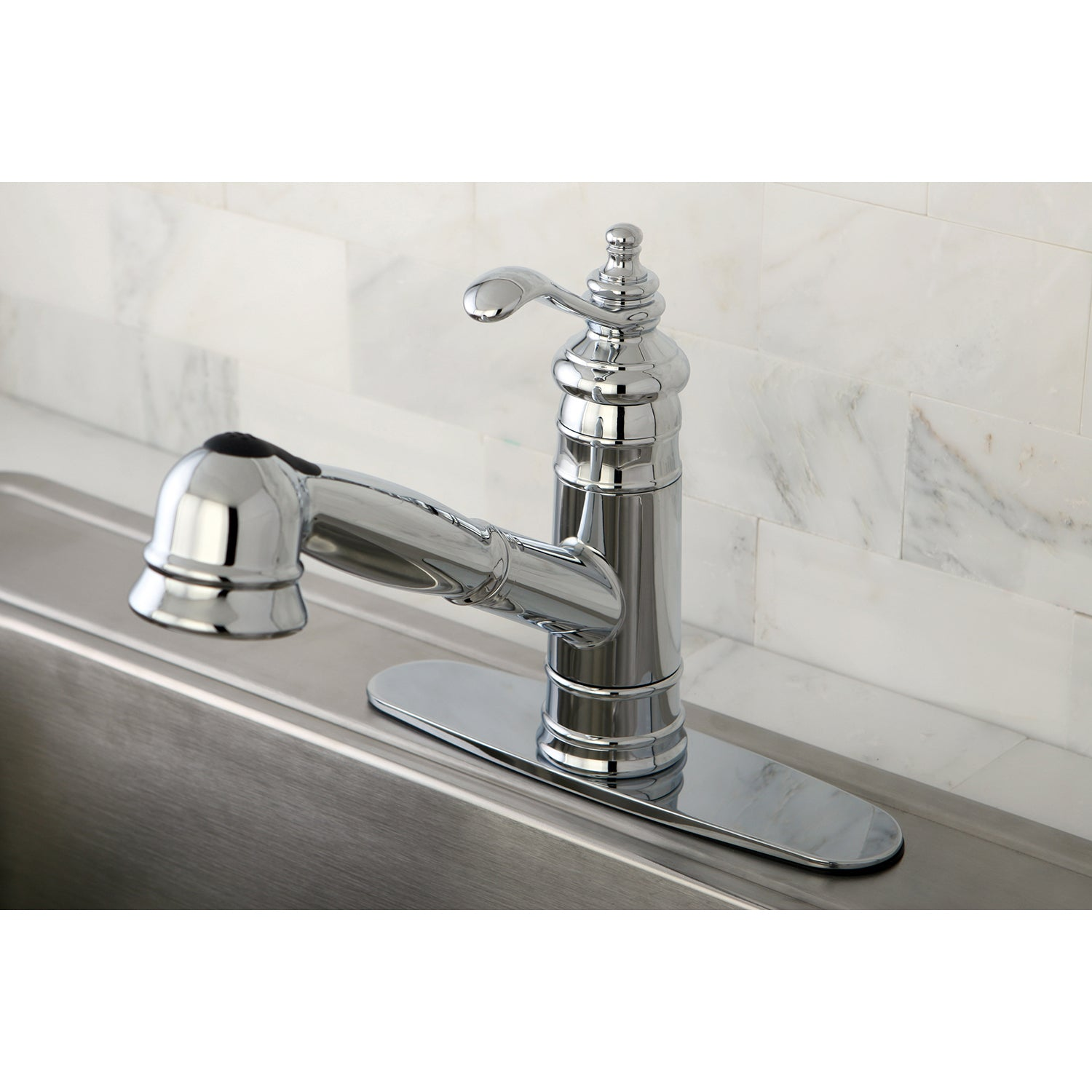 Pull-Out Kitchen Faucet