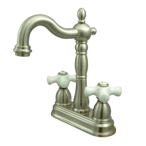 Hook Spout Bar Faucet without popup rod