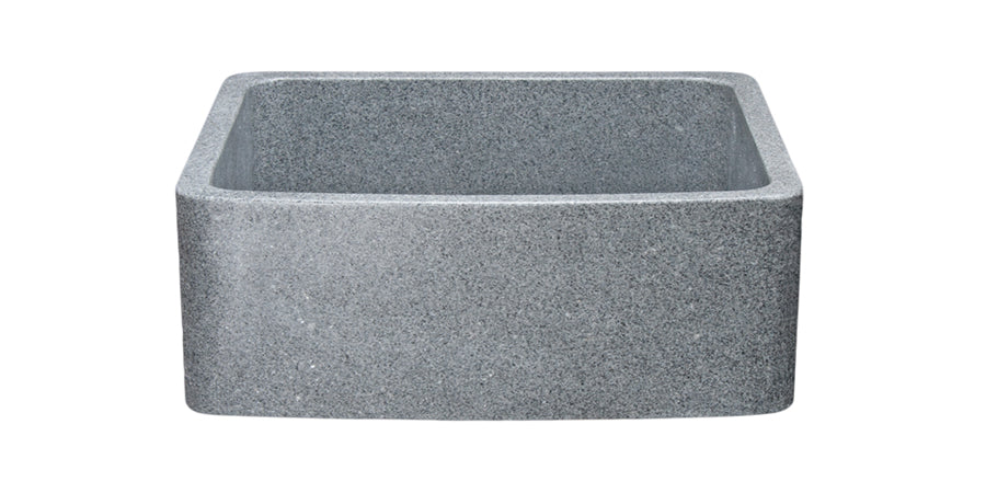 "24"" Mercury Granite Curved Front Sink"