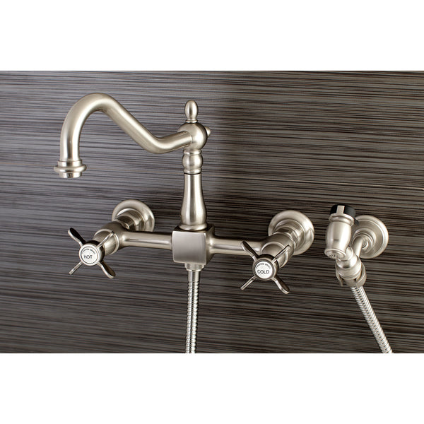 Essex Collection Wall Mount Kitchen Faucets Rustic Sinks