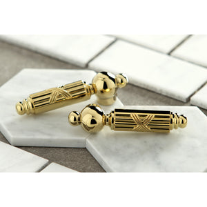 Heritage 8 in. Widespread Bathroom Faucet Designer Lever Handles