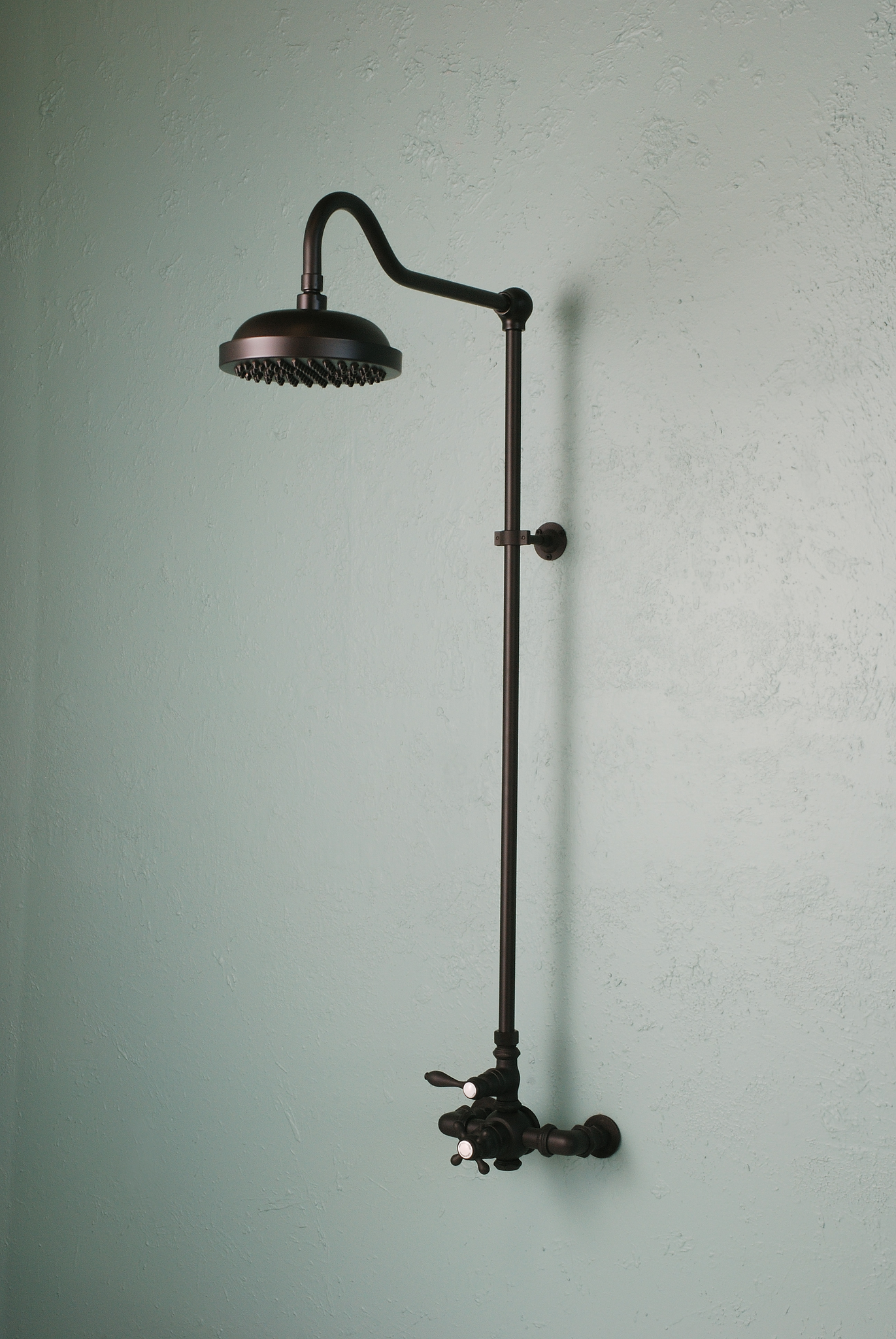 Vintage Style Exposed Thermostatic Shower Set Rustic Sinks