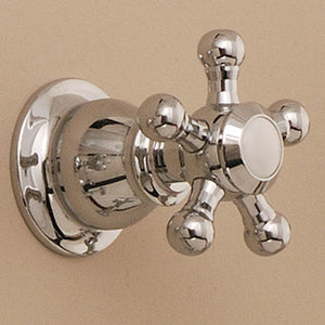 Thermostatic Shower Control/Volume Valves with 5 Spoke Cross Handles