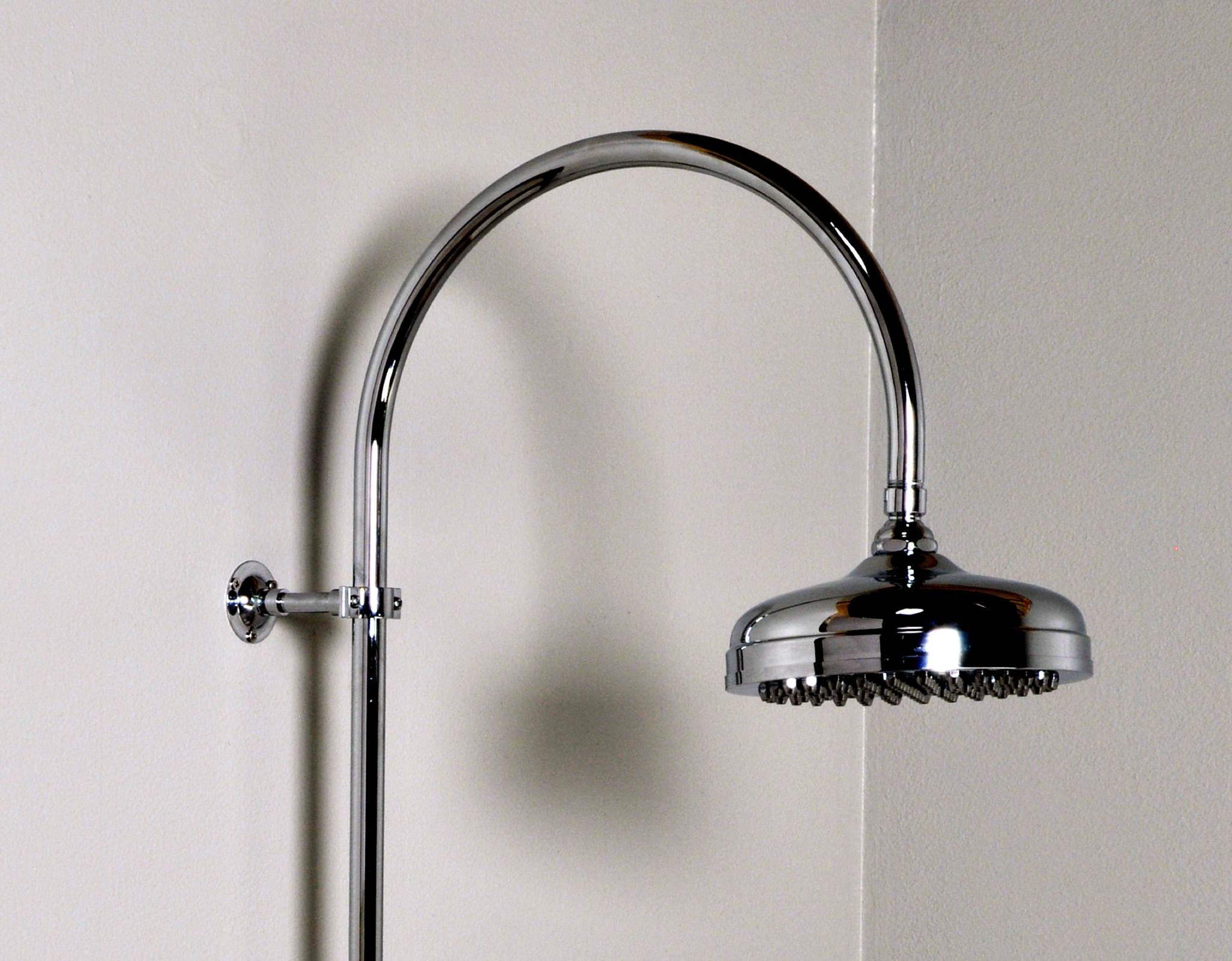 Gooseneck Thermostatic Exposed Shower Faucet