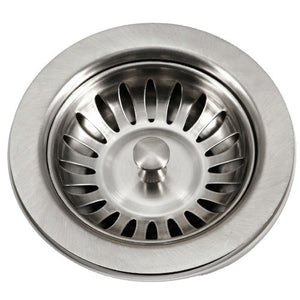 Kitchen Stainless Steel Basket Strainer