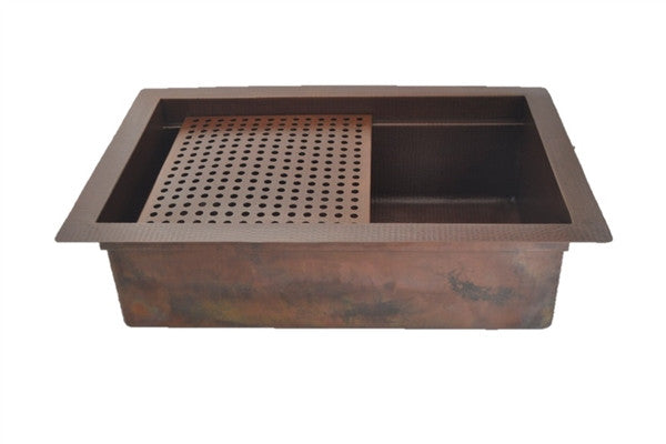 Affordable Copper Kitchen Sinks Rusticsinks Com Rustic