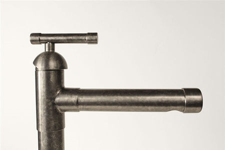 Tall Lavatory Faucet with Cap Spout