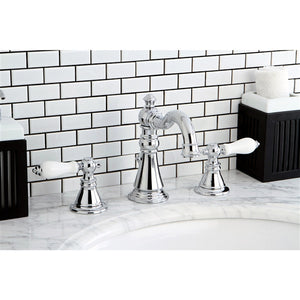 2 Handle Widespread Lavatory Faucet with Pop Up