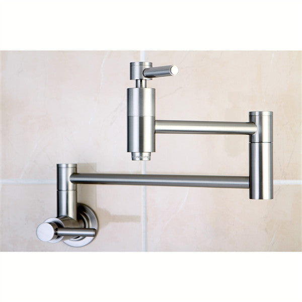 Pot Filler Faucets Solid Brass Rustic Sinks
