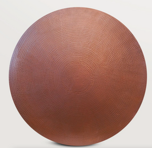 Round Copper Table Top