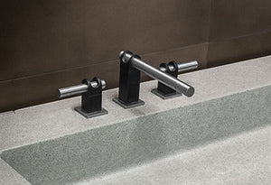 Strap Collection Deck Mount Lavatory Faucet