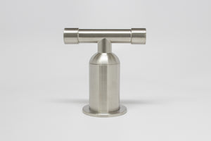 Short Bathroom Faucet with Waterfall Spout