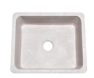 "24"" Stratus Marble Farmhouse Sink"