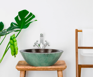 Round Verde Copper Vessel Sink