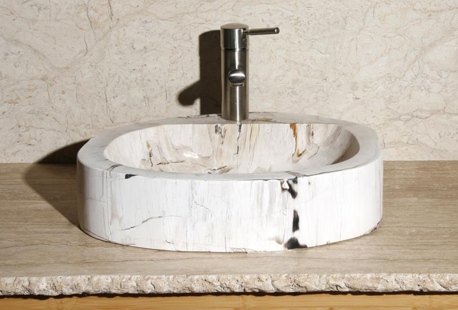 "Petrified Wood Sink-14-17"" Group"