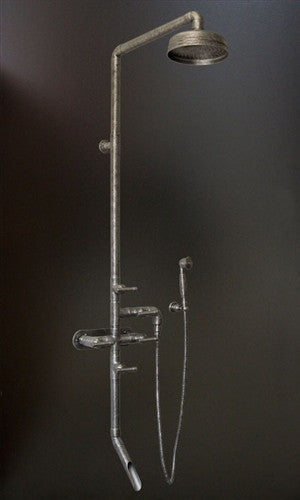 Wall Mount Exposed Shower System