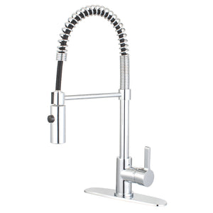 Continental Single-Handle Pre-Rinse Kitchen Faucet