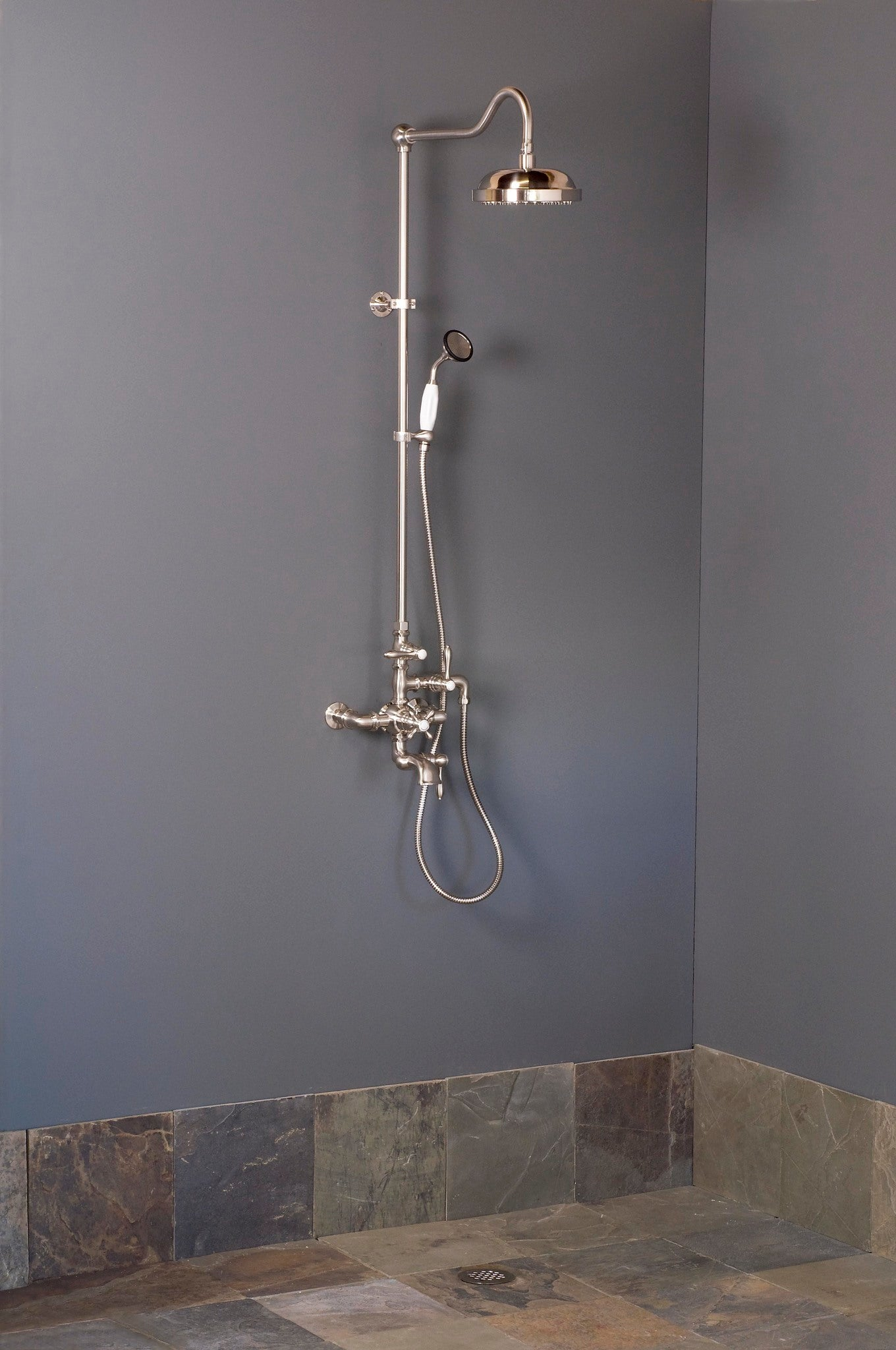 Shower Set with Handheld Shower & Tub Filler
