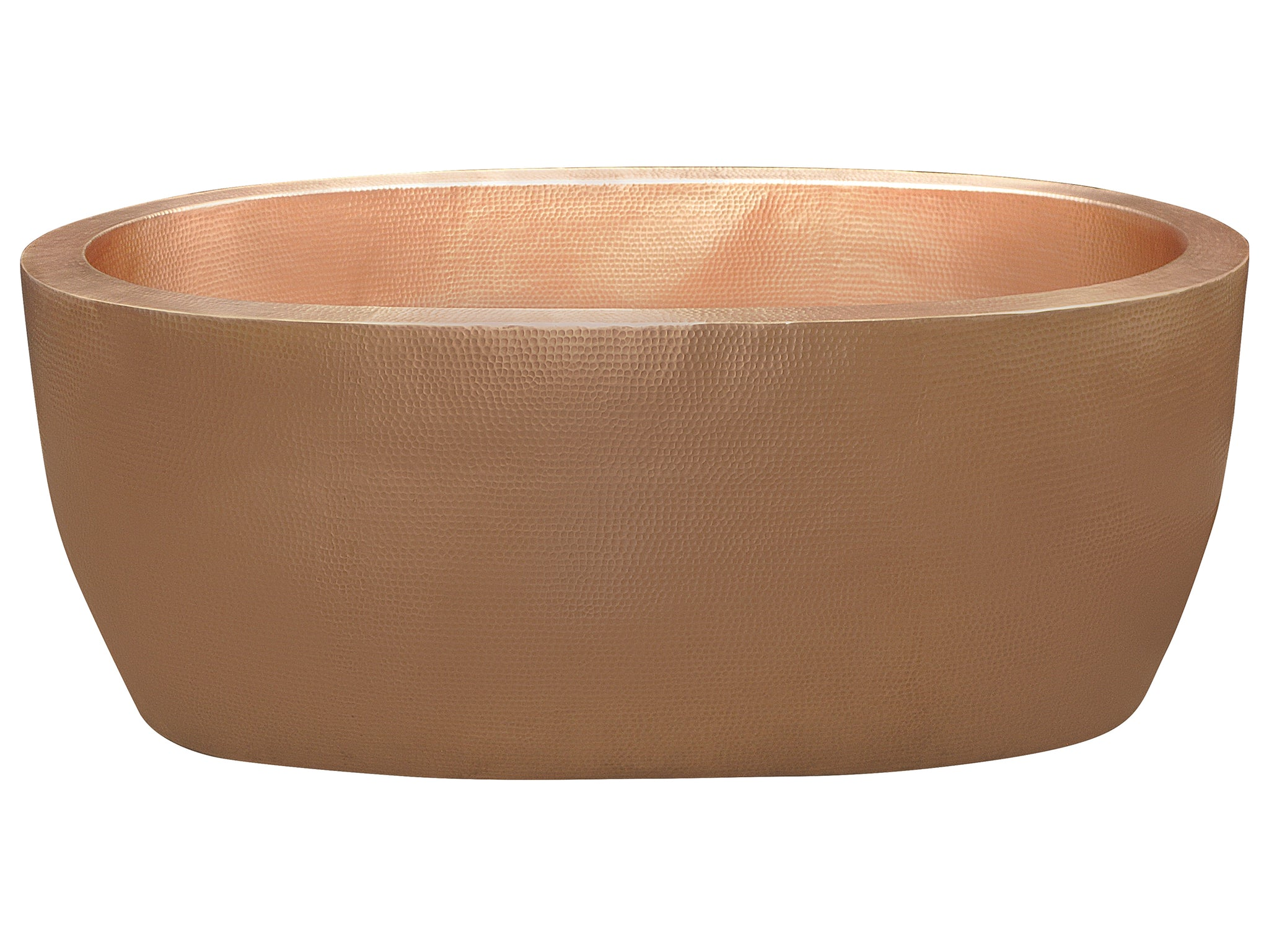 Modern Double Wall Copper Bathtub