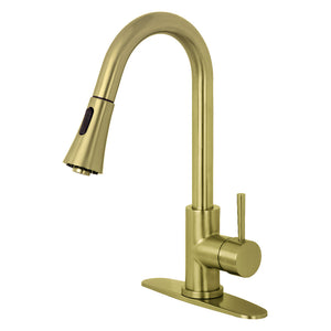Concord Single-Handle Pull-Down Kitchen Faucet