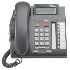 Nortel Norstar T7208 Telephone Charcoal (NT8B26) - BURNS