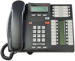 Nortel Norstar T7316E Enhanced Telephone Charcoal - (NT8B27) - BURNS