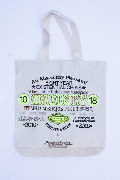 Madbury Forever Canvas Tote Bag