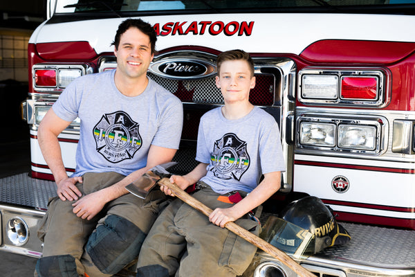 SPFFA Burn Fund Collaboration T-shirt