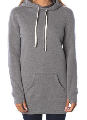 Brave Hoodie Dress | Women's | Nickel - Authentic Brave Apparel
