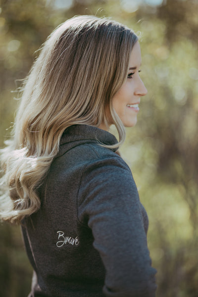 Brave Hoodie Dress | Women's | Nickel
