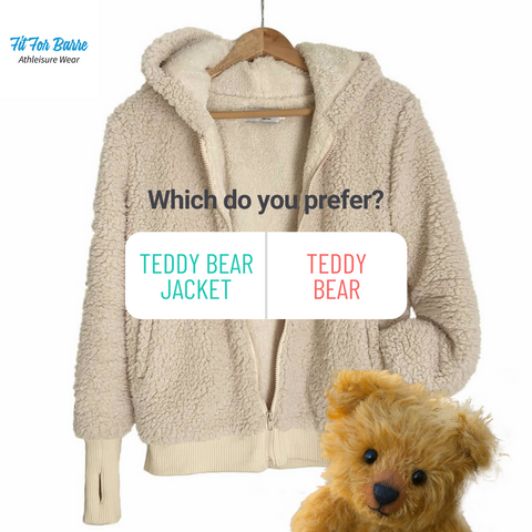 Do you prefer Teddy Bears or Teddy Bear Jackets. Click to find out which is on sale!