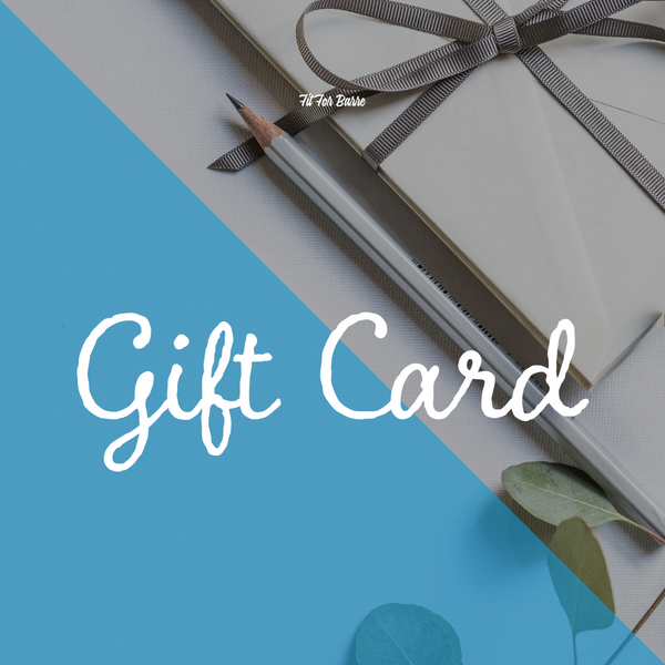 Fit For Barre Gift Card. A perfect gift for any fitness lover.