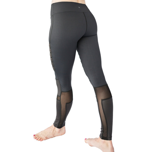 Banded Black Legging